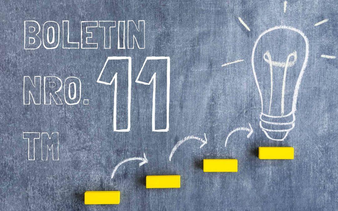 Boletin Nro. 11 Turno Mañana 2019