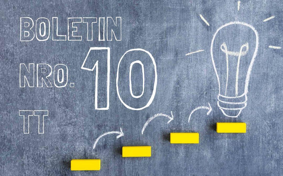 Boletin Nro. 10 Turno Tarde 2019