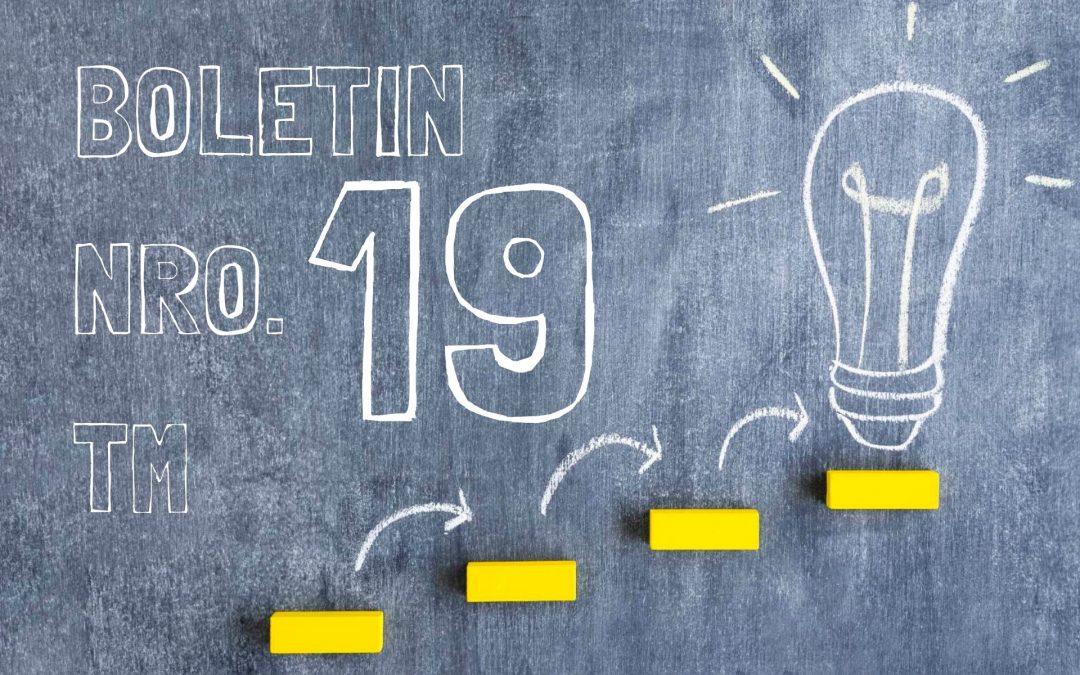 Boletin Nro.19 – Turno Mañana 2019