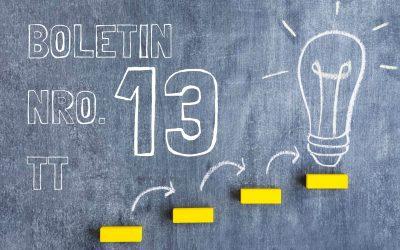 Boletin Nro. 13 – Turno Tarde 2019