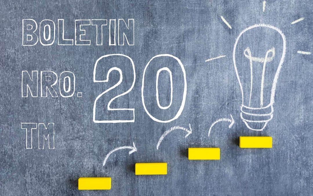 Boletin Nro. 20 – Turno Mañana 2019